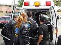 ambulancia con heridos