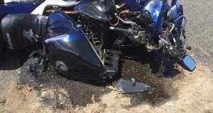 accidente en motora