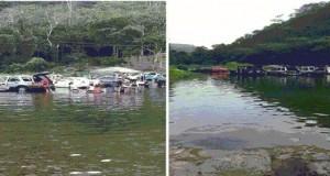 Foto en Twitter río en Ciales