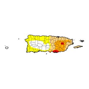 Mapa del monitor de sequía 7-23-15