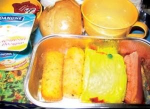 comida de avion