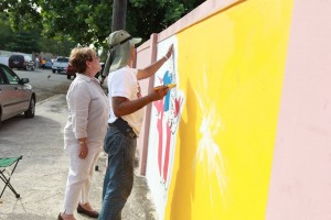 pintan calles de ponce