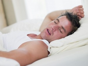 durmiendo con la boca abierta