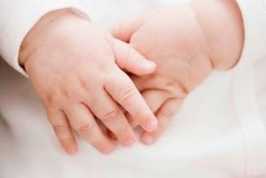 manos de bebe