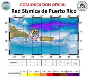 mapa sismico