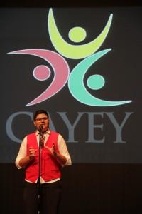 Abdiel González es uno de los estudiantes cayeyanos que participó del certamen de oratoria sobre urbanismo y viajará a Nueva York. (1)