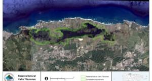 Delimitación Reserva Natural Caño Tiburones