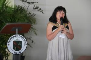 Dra. Helda Morales, Conferencia Magistral sobre Mujeres en la Agroecología