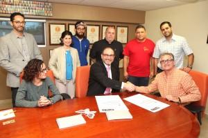 Acuerdo Practicas Estudiantiles UPR Carolina y Hera Printing
