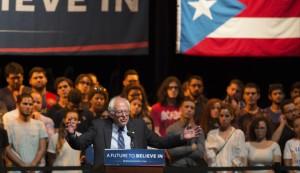 Bernie Sanders Campaign Rally In Puerto Rico