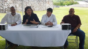 1. Conferencia prensa- ICP, DRNA, JP y comunidad