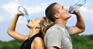 bebiendo agua 5
