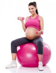 embarazada ejercicio