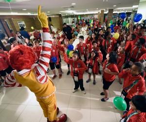 Olympics Kids + Ronald