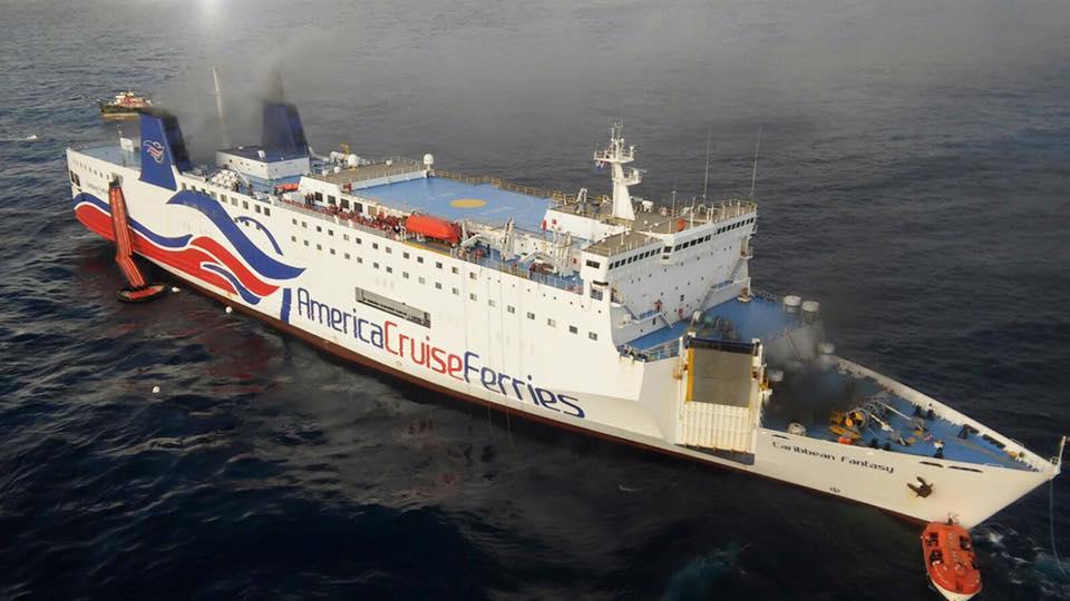 Se incendia el ferry varios pasajeros caen al mar for Cuarto de zanty ferry