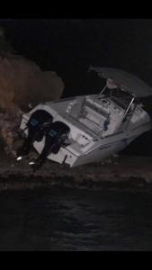 bote accidente