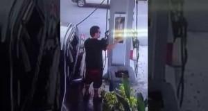 robando extintor