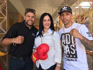 Juanma, Directora Maldonado y Albert Rivera
