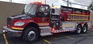 camion bombero