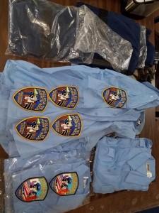 ropa de policia