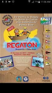 Promo Regata Botes de Carton 2017