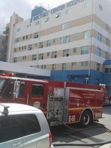 fuego hospital