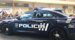 patrulla en escuela