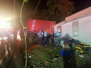 camion impacta